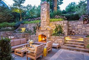Landscape Lighting Annapolis Md Outdoor Fireplace Annapolis Md Landscape Fireplace