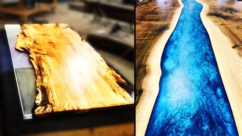 10 Amazing Making Epoxy Resin River Table Compilation #2