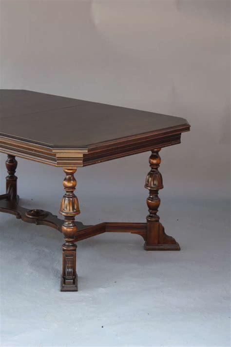 antique walnut dining table antique walnut 1920 39 s dining room table at 1stdibs