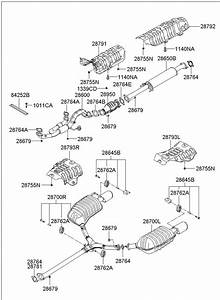 2876428020 - Hyundai Gasket
