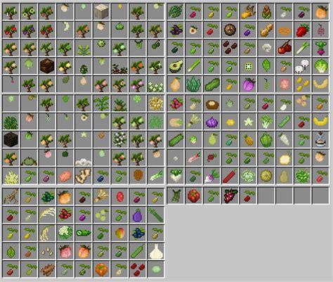 pams harvestcraft  minecraft mods