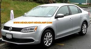Vw Volkswagen Jetta Halogen Standard Headlamp Upgrade Replace Hid Bi