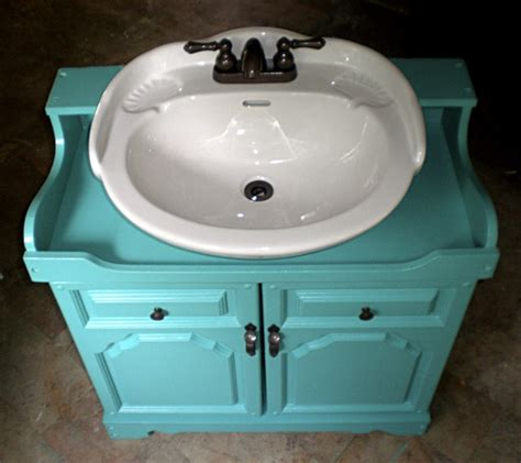 spray paint kitchen sink diy vanity from an stereo cabinet i need to take 5659