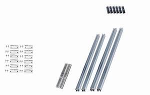 Kit Panneau Solaire Autoconsommation : kit de fixation pour 2 panneaux toiture t le trap zo dale ~ Premium-room.com Idées de Décoration