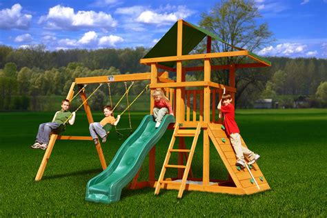 best of swing decorating kinds of gorilla playsets for your children
