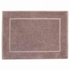 tapis de bain 600g m2 50x70cm taupe With tapis de bain taupe