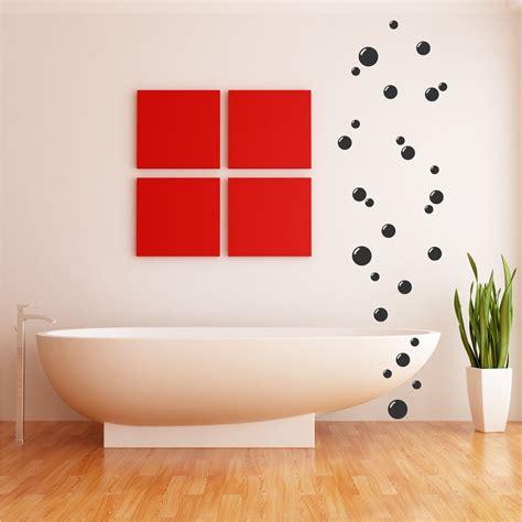 27 Bathroom Bubbles Wall Art Stickers Tile En Suite Vinyl