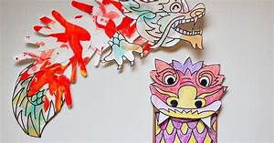 Two Chinese New Year Dragon Crafts