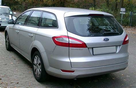 2007 Ford Mondeo Iv Wagon Pictures Information And