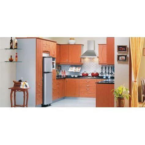 godrej modular kitchens wooden  shape big kitchen