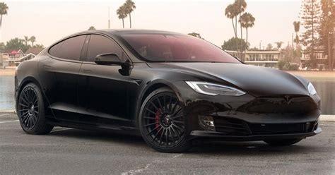 Model S P100d t sportline unveils a sporty tesla model s p100d