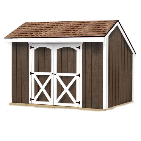 storage sheds home depot best barns aspen 8 ft x 10 ft wood storage shed kit