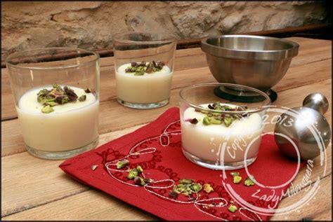recette de cuisine libanaise recette mouhalabieh crème de riz libanaise