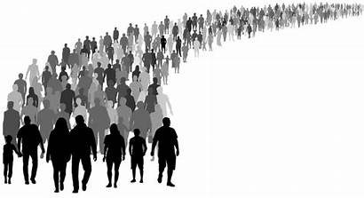 Silhouette Crowd Politics Walking Vector Google Drawing