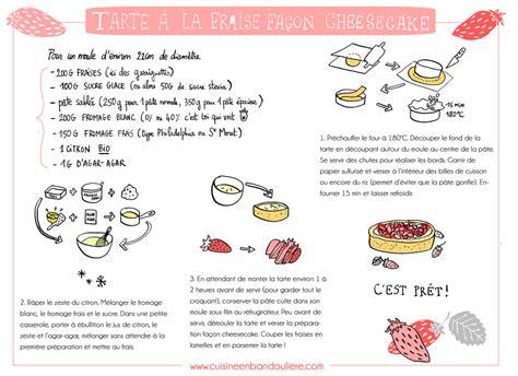recette de cuisine original recette tarte aux fraises façon cheesecake cuisine en