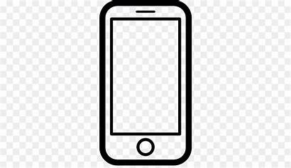 Phone Clip Cell Clipart Icon Iphone Mobile