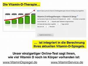 Vitamin D Spiegel Berechnen : wo kann ich beim online vitamin d spiegel meine vitamin d therapie eingeben vitamin d service ~ Themetempest.com Abrechnung