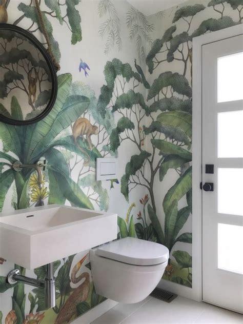 lulu georgia jungle wallpaper mural cheap home decor