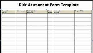 risk assessment form templates project management With vendor risk assessment template