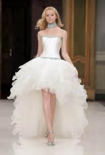 wedding dresses high low 2016 wedding dresses and trends high low wedding dresses