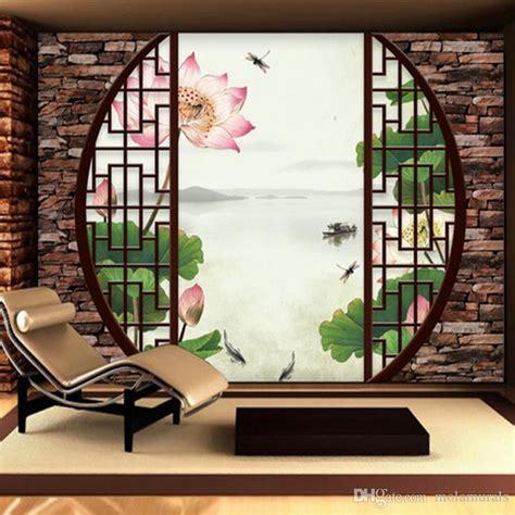 custom  mural wallpaper  woven chinese style retro