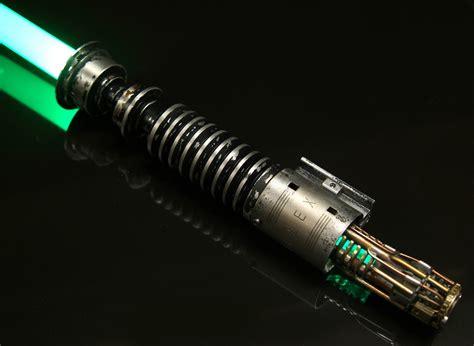 luke skywalker light saber ro lightsabers luke skywalker rotj v2 lightsaber