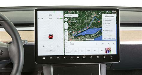View Tesla 3 Display Screen Gif