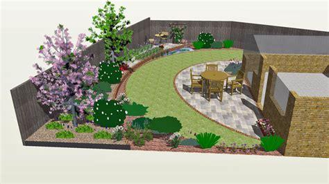 crescent layers garden design rogerstone gardenscardiff
