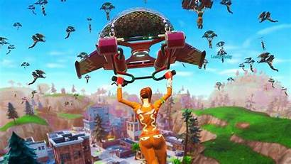 Fortnite Tilted Towers Players Landing Land Tomorrow