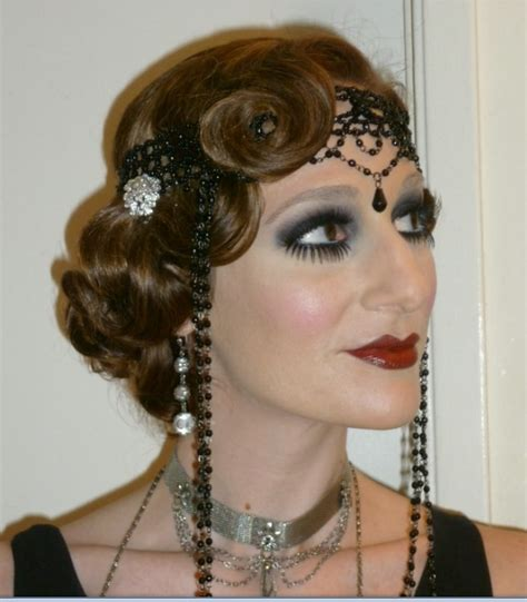 1920 S Pin Up Hairstyles by 1920 S Hair And Make Up 1920s