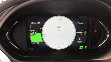 video electric chevy bolt ev dash driver information
