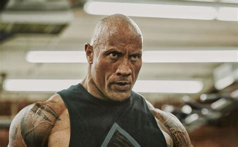dwayne  rock johnson shares  thoughts  stone