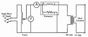 Transformer Open And Short Circuit Tests