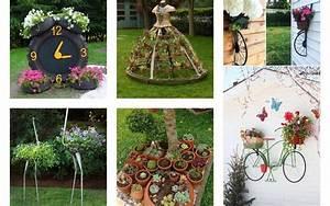 Creative, Diy, Garden, Decor, Ideas