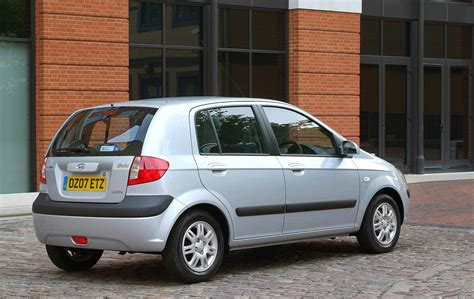 hyundai getz hatchback review   parkers