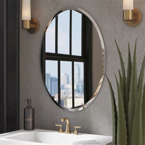 wade logan kayden bathroom mirror reviews wayfair