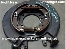 Nissan Titan Caliper Mounting Bracket Backing Plate