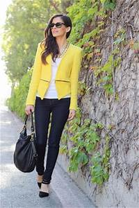 Yellow Blazer How to Wear and Where to Buy