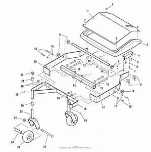 Simplicity 2690447 - Pacer Series W   34 U0026quot  Deck Parts Diagram For 34 U0026quot  Mower Deck