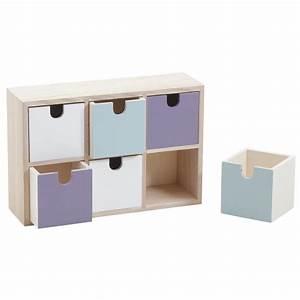 Casier A Tiroir : mini casier 6 tiroirs ncm2970 aubry gaspard ~ Teatrodelosmanantiales.com Idées de Décoration