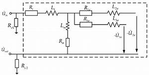 The Simplified Equivalent Circuit Of The Transformer Winding In The Low