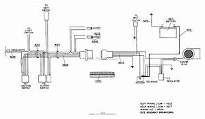 Dixon Ztr 427  1986  Parts Diagram For Wiring Assembly