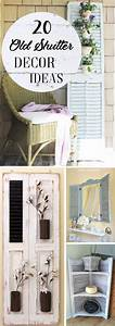 Get, Inspired, With, These, 20, Old, Shutter, Decor, Ideas
