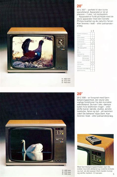 philips television catalogue  danish