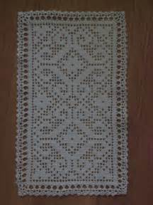 Free Filet Crochet Name Doily Pattern