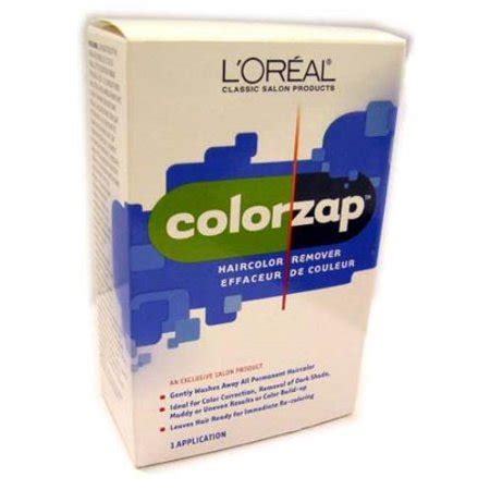 loreal hair color remover l oreal loreal usa 41080050 41080050 colorzap haircolor