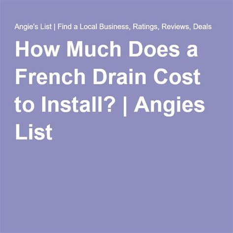 how much does it cost to install a pond 1000 ideas about french drain installation on pinterest french drain drainage solutions and