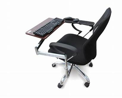 Keyboard Chair Tray Mouse Laptop Mount Computer