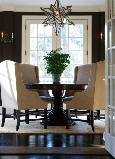 moravian star pendant contemporary dining room sage