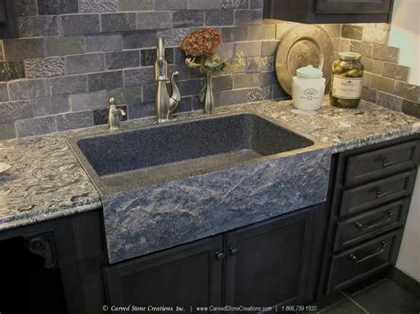 top  reasons  install  granite kitchen sinkcarved